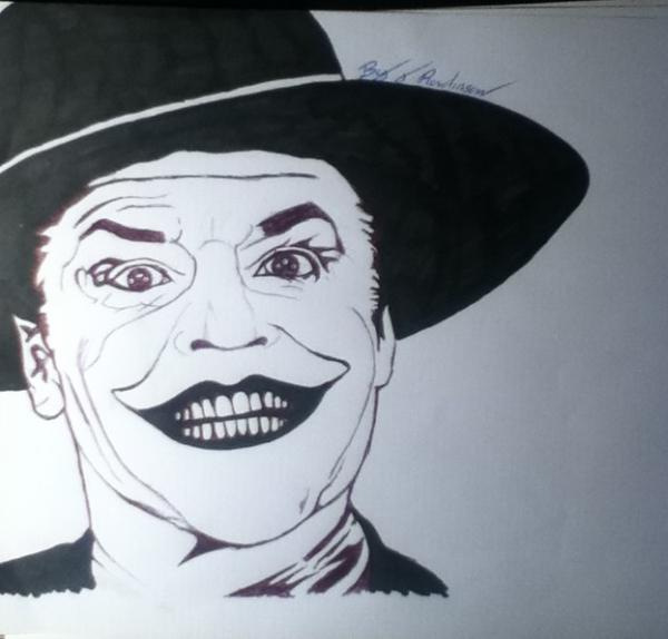 Joker by jamesrowlinson